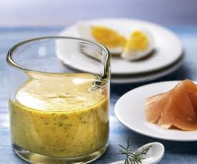Senf-Dill-Sauce