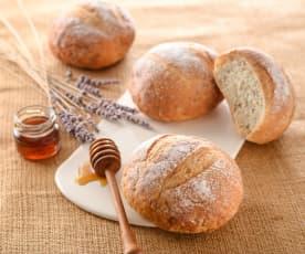 薰衣草蜂蜜麵包