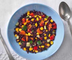 Insalata di riso nero