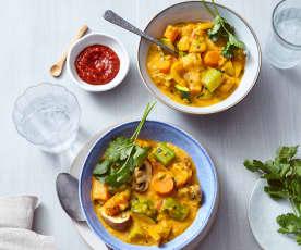 Curry von Wurzelgemüsen
