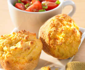 Polenta-Muffins