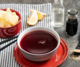 Orientalny sos słodko-kwaśny