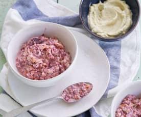 Salada cor de rosa