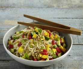 Thai Peanut Crunch Salad