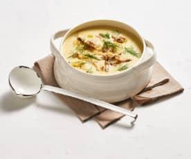 Pfeffermakrelen-Suppe