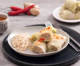 Orientalne gołąbki w sosie słodko-kwaśnym