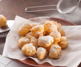 Buñuelos vieneses (sin gluten y sin lactosa)