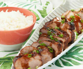 Char Siu Pork with Rice