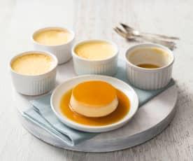 Crème caramels