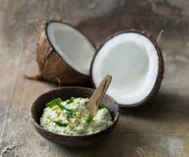 Fresh coconut chutney