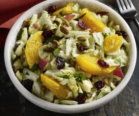Fennel, Orange and Cherry Salad