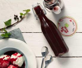 Crème de Cassis (Johannisbeerlikör)