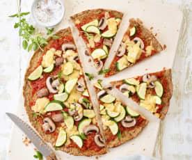 Pizza na spodzie z tuńczyka (low carb)