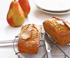Cake aux poires très épicé