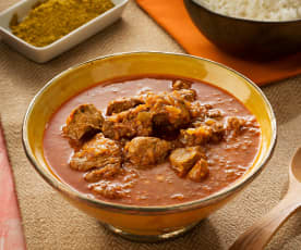 Vindaloo de cordero - India