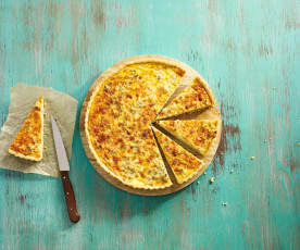 Tarragon Chicken Quiche