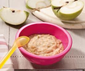 Bouillie d'épeautre à la pomme