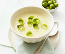 Rosenkohl-Kartoffel-Suppe