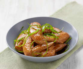 Lu ji chi (braised chicken wings)