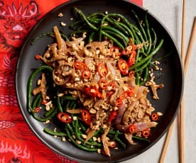 Chinese Long Beans with Pork