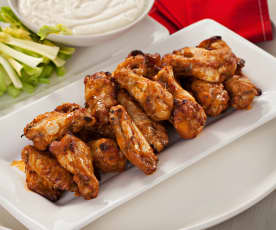 Alitas de pollo picantes (Buffalo wings)