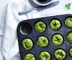 Green pea cakes  (10-12 months)