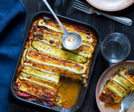 Lasagne sans pâte aux légumes