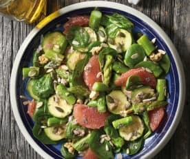 Insalata di zucchine e asparagi