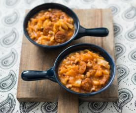 Chorizo and bean winter warmer