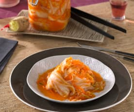 Kimchi de verduras