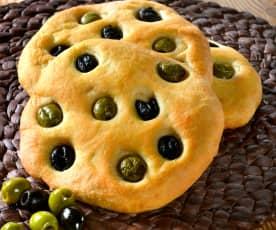 Focaccia alle olive (TM6)