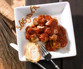 Currywurst mit Sansibar Currysauce