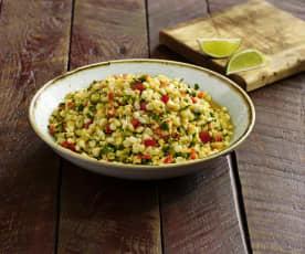 Spiced Corn Salad