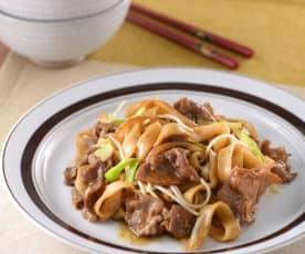 Niu rou mian (beef noodles)