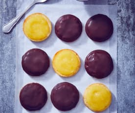 Orangen-Schoko-Biskuits