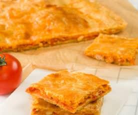 Torta de tomate (Comunidad Valenciana)
