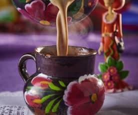 Atole de café de la olla