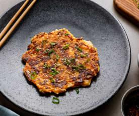 Pancakes au kimchi (Hestan Cue™)