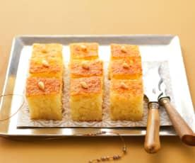 Semolina cake (namoura)