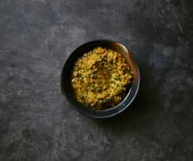 Möhren-Rucola-Pesto