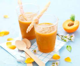Gaspacho d'abricot au thé et gingembre
