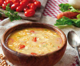 Zuppa di soia gialla
