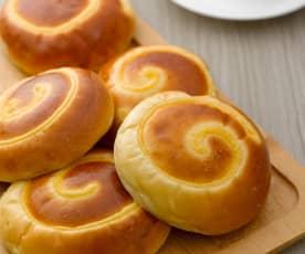乳酪卡士達麵包