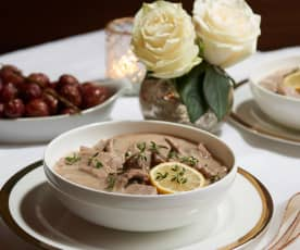 Biltmore Veal Fricassee