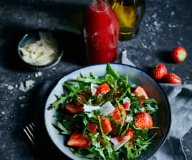 Erdbeer-Balsam-Essig