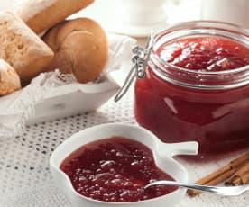 Třešňovo-jablečný džem