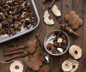 Perníková granola