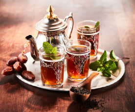 Traditional mint tea