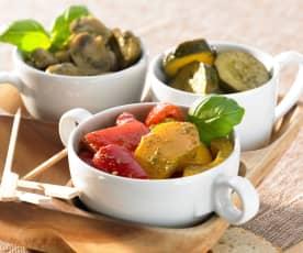 Antipasti-Gemüse