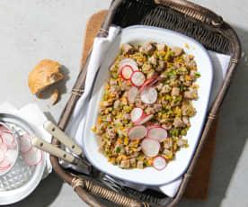 Salade de bouilli